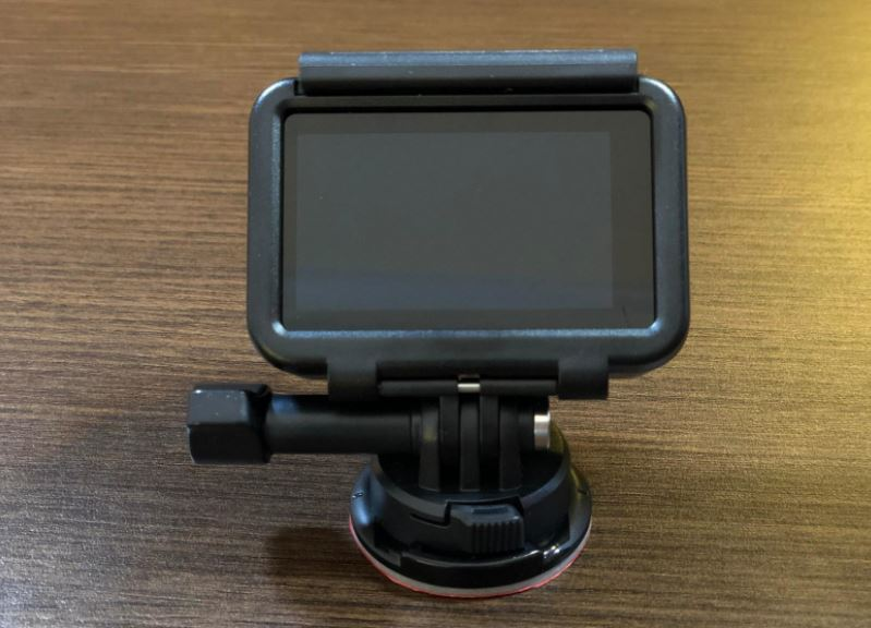 DJI Osmo Action touchscreen