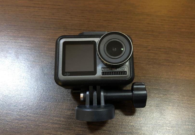 DJI Osmo Action Front Screen Design