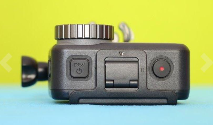 DJI Osmo Action Top Buttons