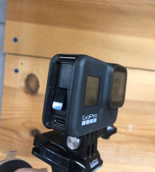 GoPro Hero8 Black Ports and Slots