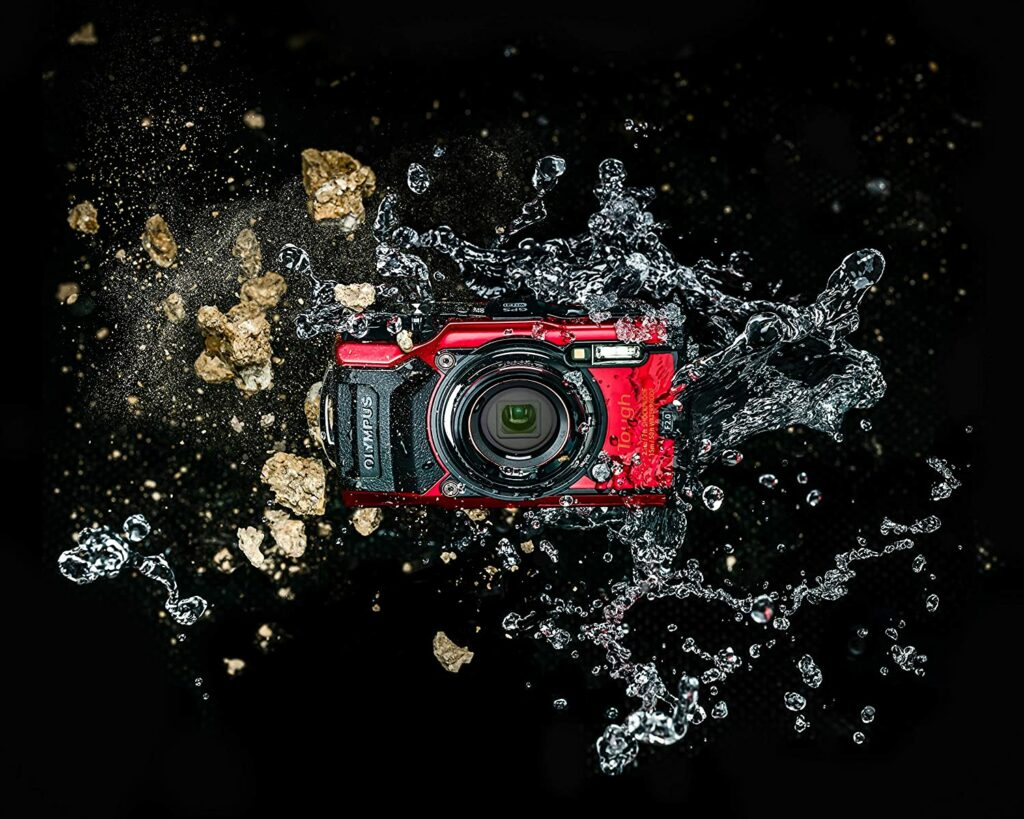 Olympus Tough TG-6 crushproof