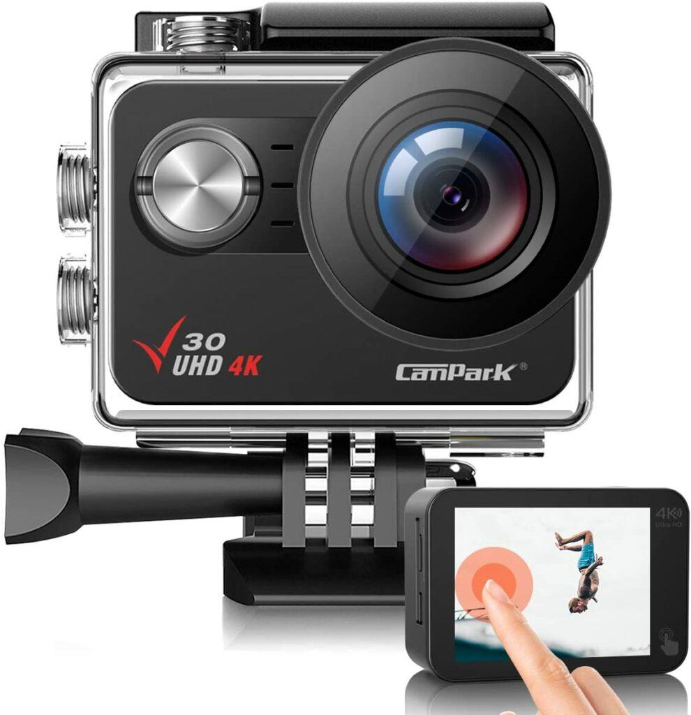 Campark V30 best action cameras under 100
