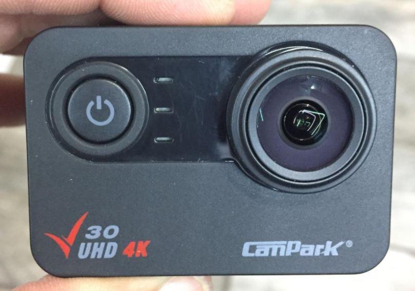 Campark V30 Front Design