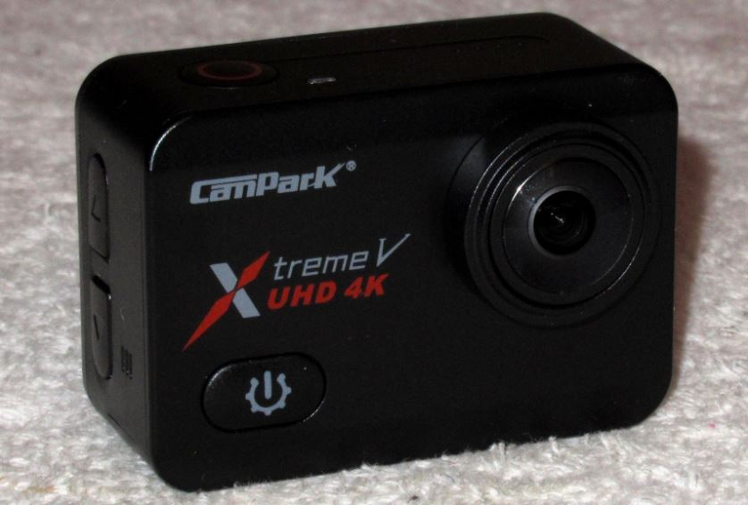 Campark X30 body front side