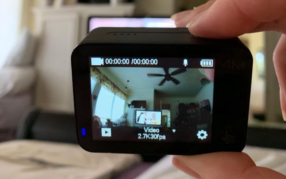 Campark X30 touchscreen 2