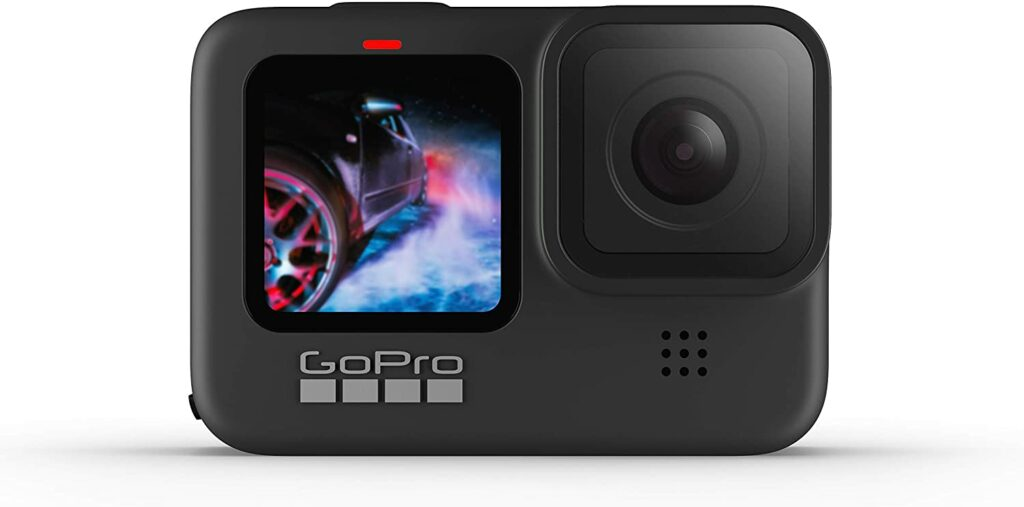 GoPro Hero9 Black front screen