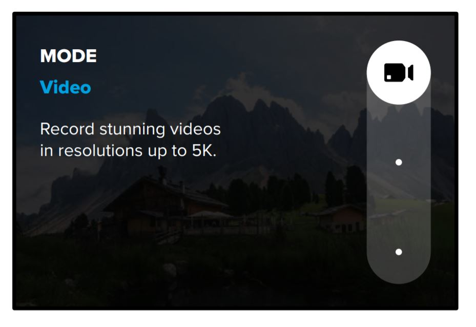 GoPro Hero9 Black Video Mode 5K