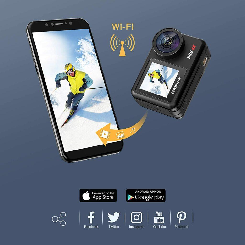 Campark V40 app