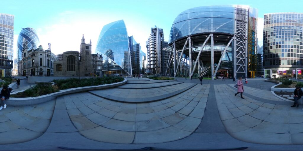 Ricoh Theta Z1 photo quality daytime
