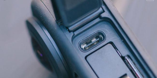 GoPro Max USB Port