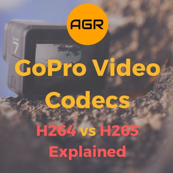 GoPro Video Codec - H264 vs H265